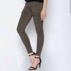 Joie So Real Skinny Jeans Pants Grey Chino 28